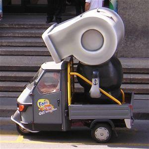 Pupazzo motorizzato 2 Fanta