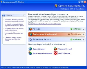 centro-sicurezza-pc-windows-xp