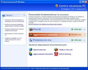 centro-sicurezza-pc-windows-xp