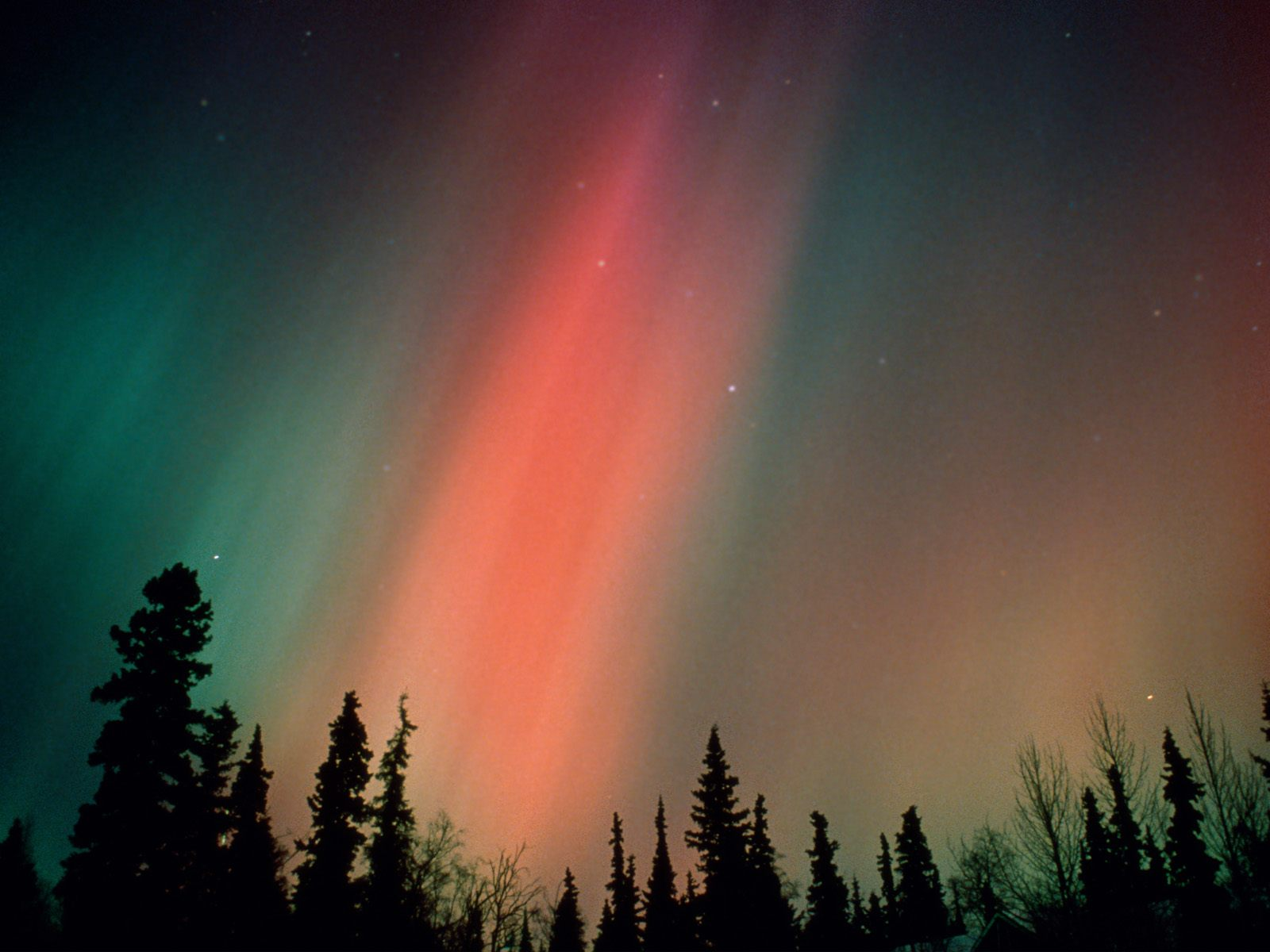Desktop wallpaper aurora boreale alaska for Sfondi desktop aurora boreale