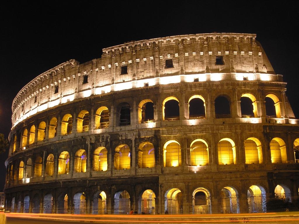 Desktop Wallpaper Roma Colosseo