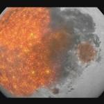 L'evoluzione della Luna in 3 minuti