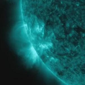 Eruzioni solari ottobre 2012