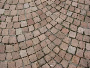 pavimentazione a ventaglio