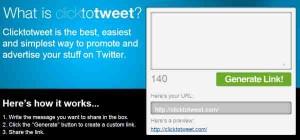 Tweet con un click