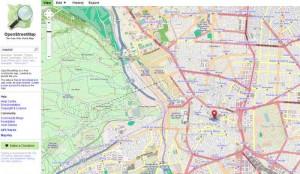 Mappe stradali gratuite con openstreetmap.org