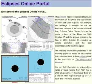 Trova le prossime eclissi