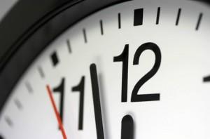 Fine dell'ora legale per il 2013