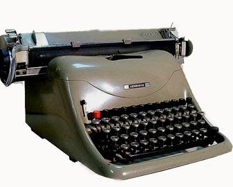 Torna ad usare la macchina per scrivere