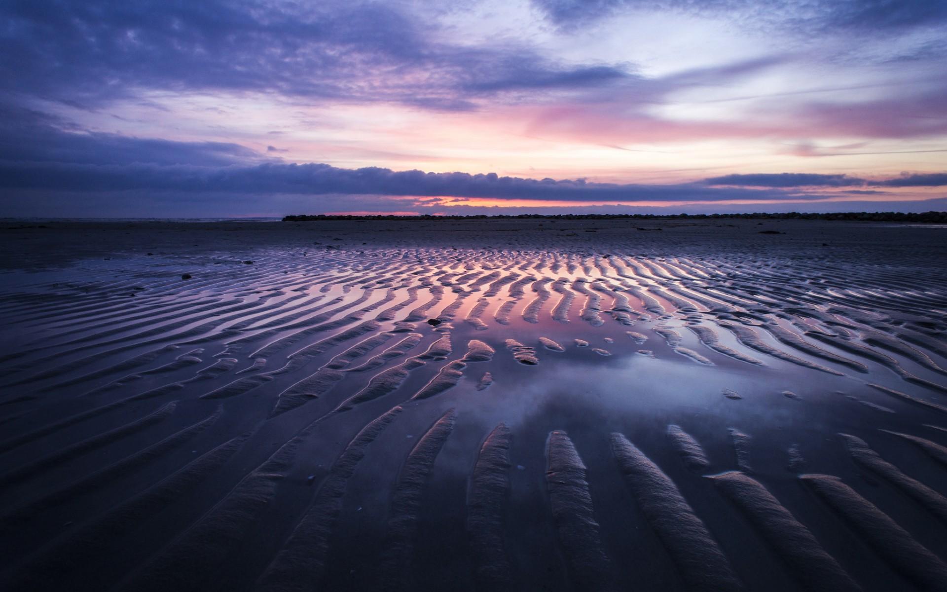 Desktop Wallpaper 176 – Spiaggia al tramonto