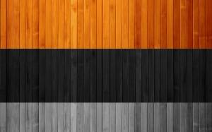 Legno a fasce colorate