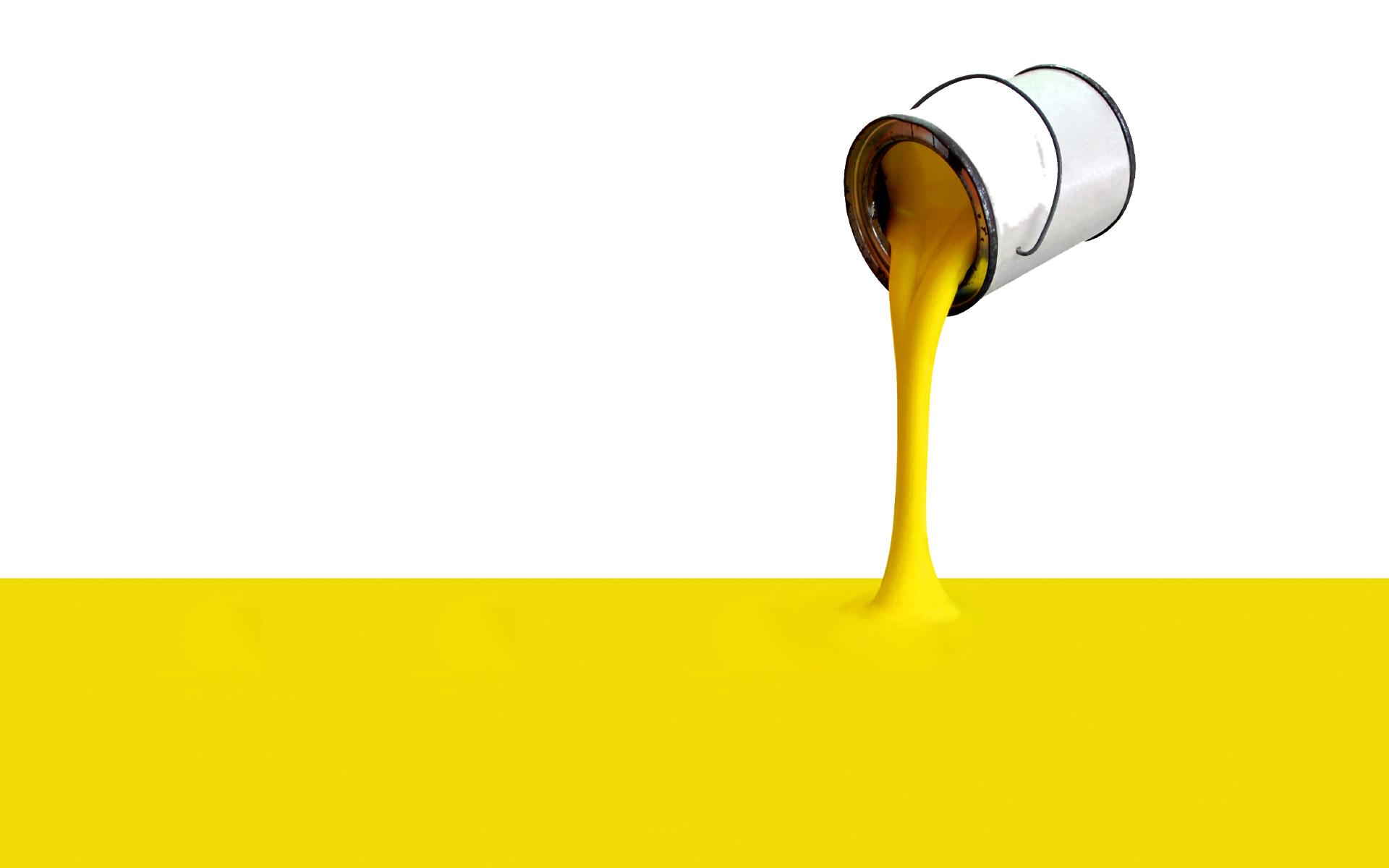 Desktop Wallpaper 197 – Secchio di vernice gialla