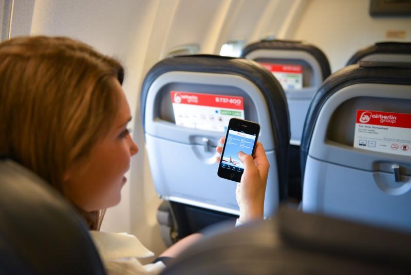 Connessi anche in aereo