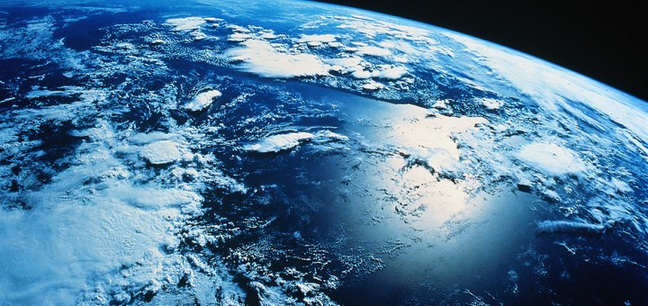 La Terra vista dalla stazione spaziale