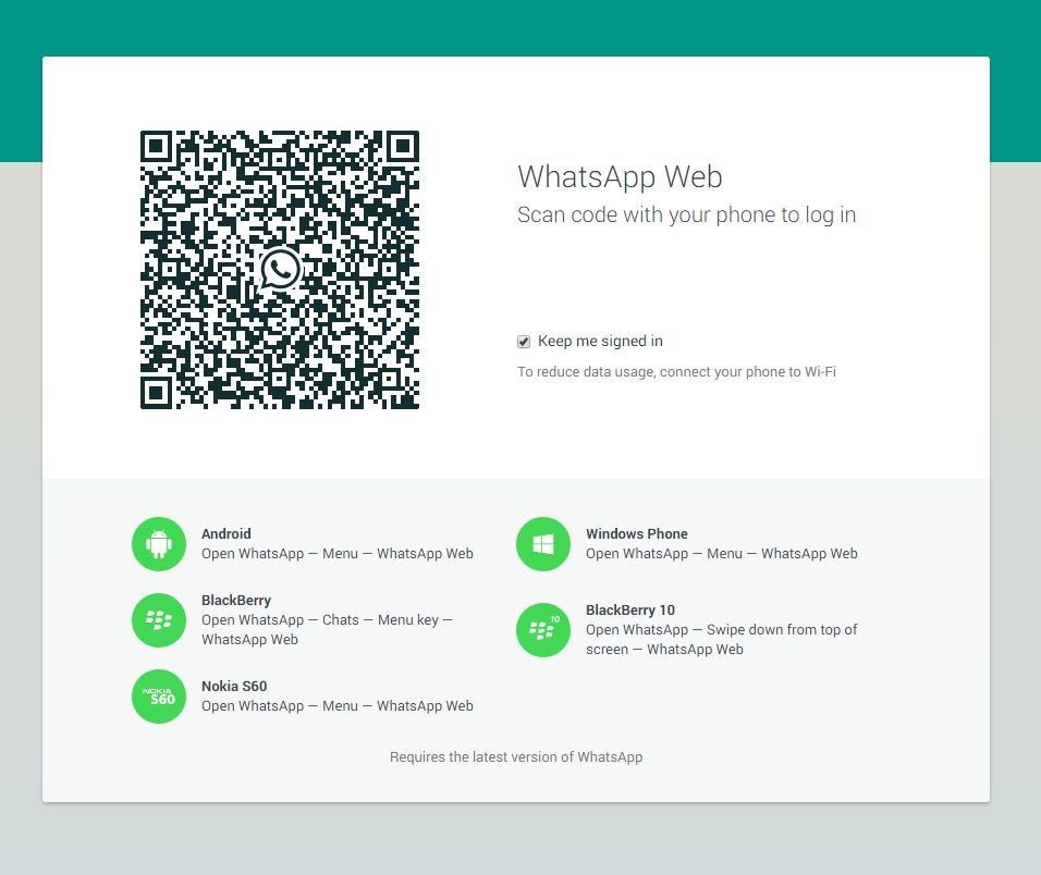 WhatsApp Web, adesso su desktop