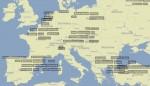 La mappa dei trending topic di Twitter