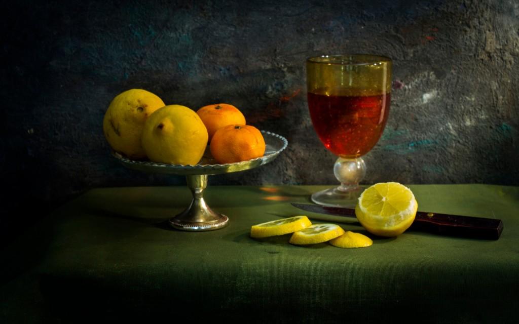 Desktop wallpaper natura morta con limoni for Immagini desktop natura