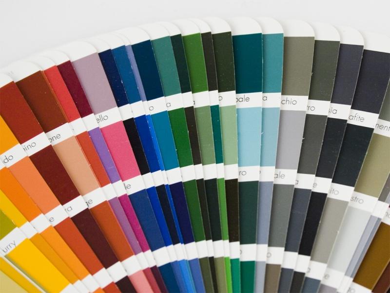scelta colore marchio