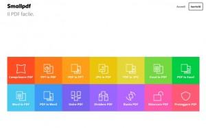 Strumenti online per lavorare sui file PDF