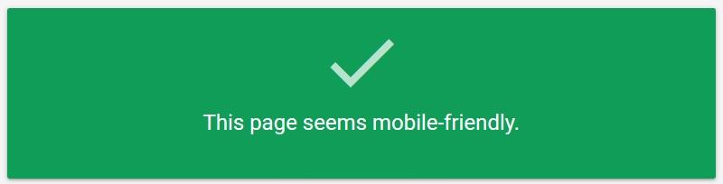 google test mobile friendly