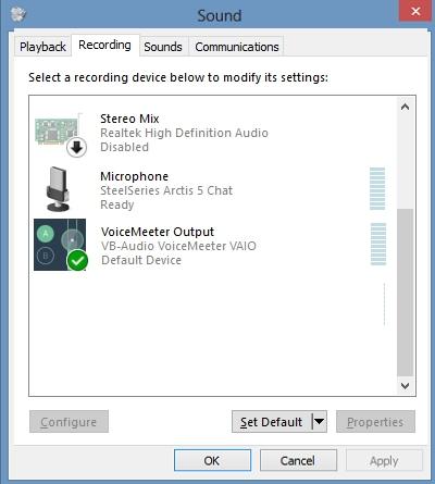 voicemeeter-output