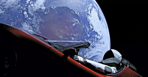 Starman Roadster Terra