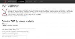 PDF Examiner online