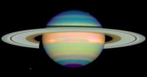 Saturno visto da Hubble