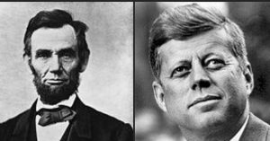 Abraham Lincoln e John F. Kennedy